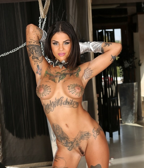 2 Bonnie Rotten - Top 10 Boob Tattoos