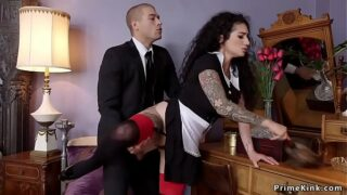 Master Anal Fucks His Slave When He Wants