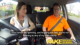 Fake Driving School Chantelle Passes Exam