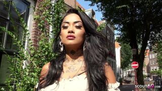 Hot tattooed Asian Bibi Diamond Fucked In Amsterdam